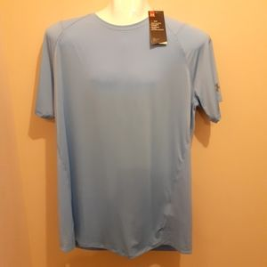3 for $25- NWT Under Armour Pale Blue Tee Size XXL